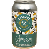 Cascade Citrus Sage Wheat 4/12