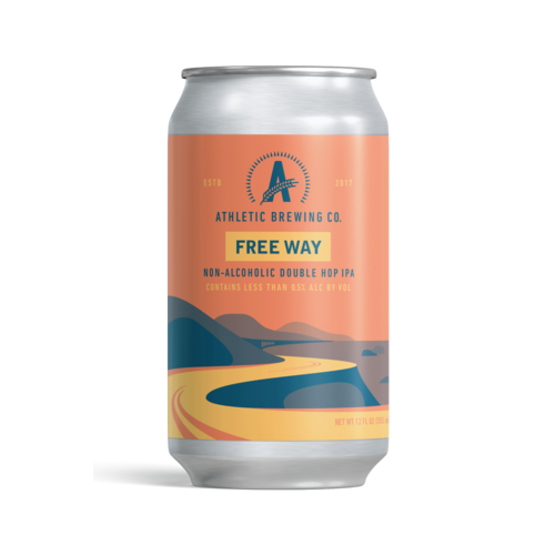 Athletic Brewing Co. Athletic Free Wave Double Hop 6/12