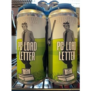 Cushwa PC Load Letter DIPA 4/16