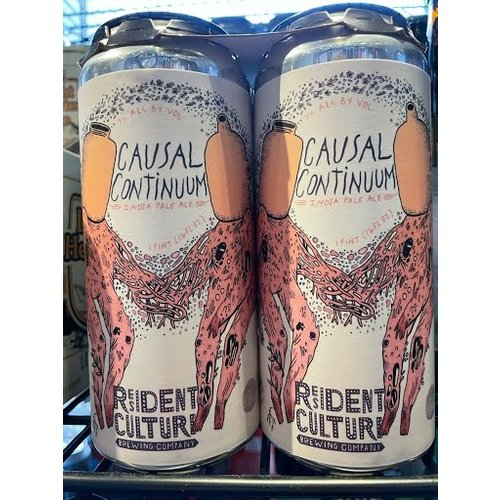 Resident Culture Brewing Co. Resident Culture Casual Continuum 4/16