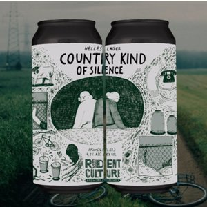 Resident Culture Country Kind Of Silence Helles Lager 4/16
