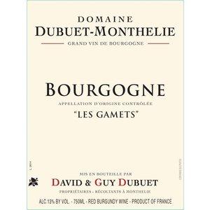 Dom Dubuet-Monthelie Les Gamets Bourgogne Rouge