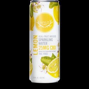 Wyld CBD Lemon Sparkling Water 12oz