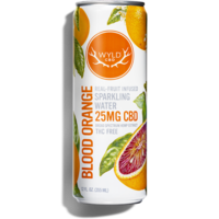 Wyld CBD Blood Orange Sparkling Water 12oz