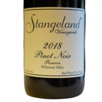 Stangeland Vinyards Stangeland Pinot Noir Reserve