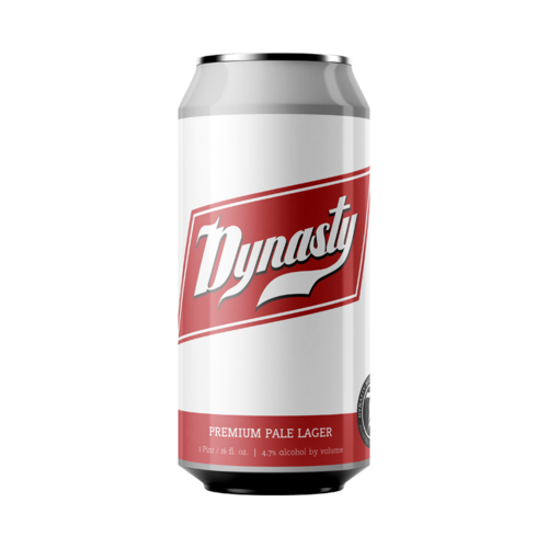 Dynasty Brewing Co. Dynasty Premium Pale Lager 4/16