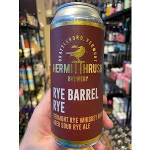 Hermit Thrush Rye Barrel Rye 16oz