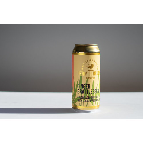 Hermit Thrush Ginger Brattlebeer Foudre Sour Ale 4/16
