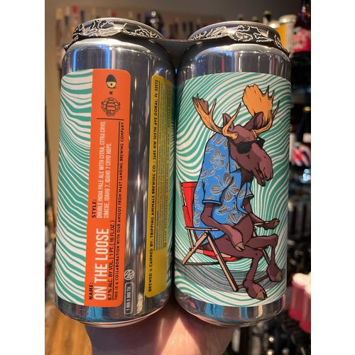 Tripping Animals On The Loose DIPA 4/16