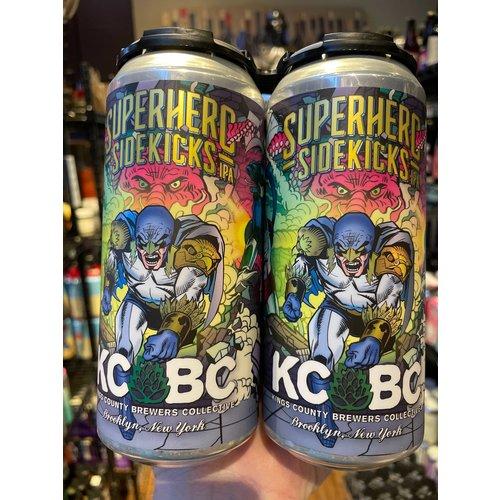 KCBC Superhero Sidekicks IPA 4/16