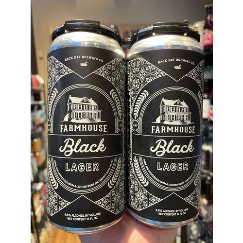 Back Bay Farmhouse Black Lager 4/16