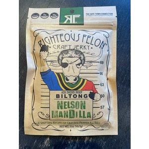 Righteous Felon Biltong - Nelson Mandilla