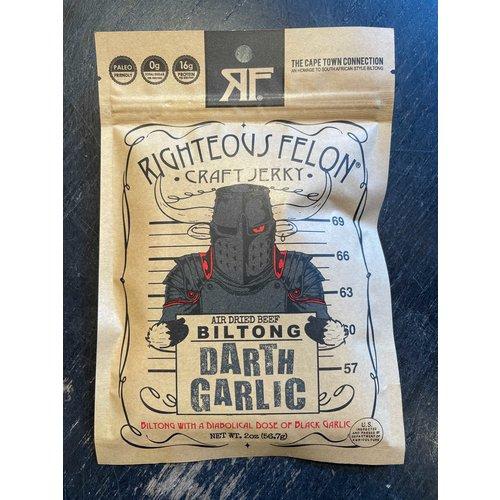 RTZN Righteous Felon Biltong - Darth Garlic