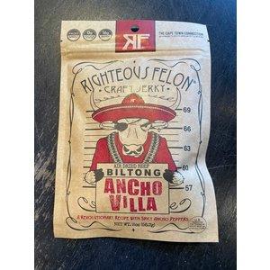 Righteous Felon Biltong - Ancho Villa
