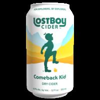 Lost Boy Cider Lost Boy Comeback Kid Dry Cider 6/12