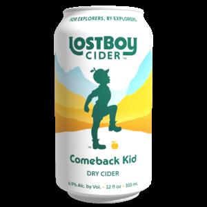 Lost Boy Comeback Kid Dry Cider 6/12