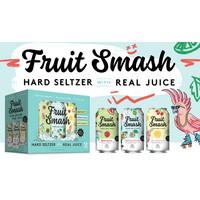 Fruit Smash Hard Seltzer 12/12