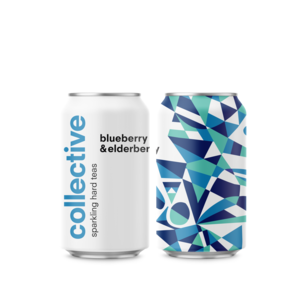 Collective Bluberry & Elderberry Sparkling Hard Tea 6/12