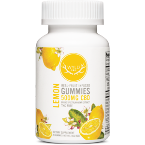 Wyld CBD Gummies 10/25mg - Lemon