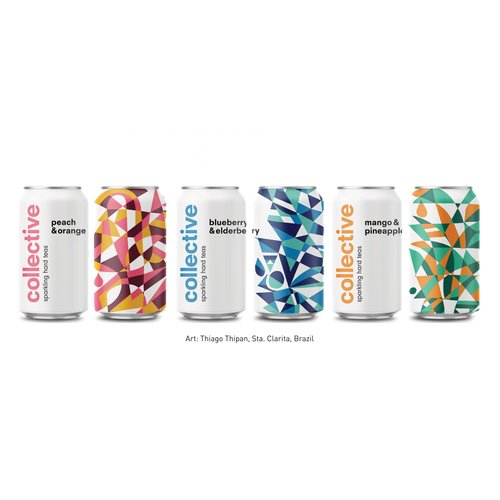 Collective Sparkling Hard Tea Variety Pack 12/12