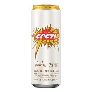 Cacti Pineapple Agave Spiked Seltzer 25oz