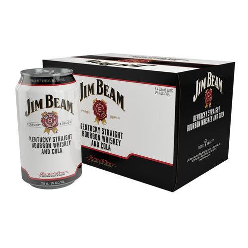 Jim Beam Bourbon & Cola 6/12