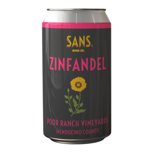 Sans Wine Co. Sans Wine Co. Zinfandel 375ml