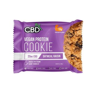 CBD FX Hemp Protein Oatmeal Raisin Cookie 20mg