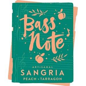 Bass Note Artisanal Sangria Peach Tarragon