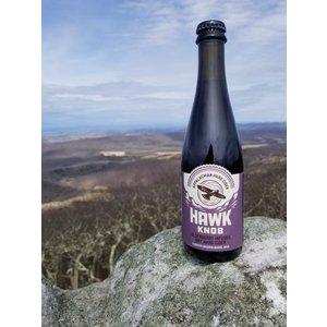 Hawk Knob Elderberry Infused Cider 6M BB