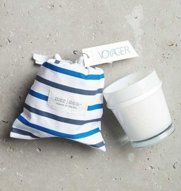 Voyager Striped Bag Candle
