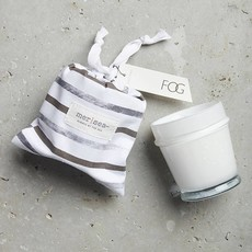 Fog Striped Bag Candle