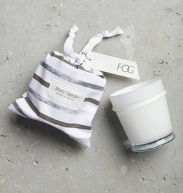 Fog Striped Bag Candle