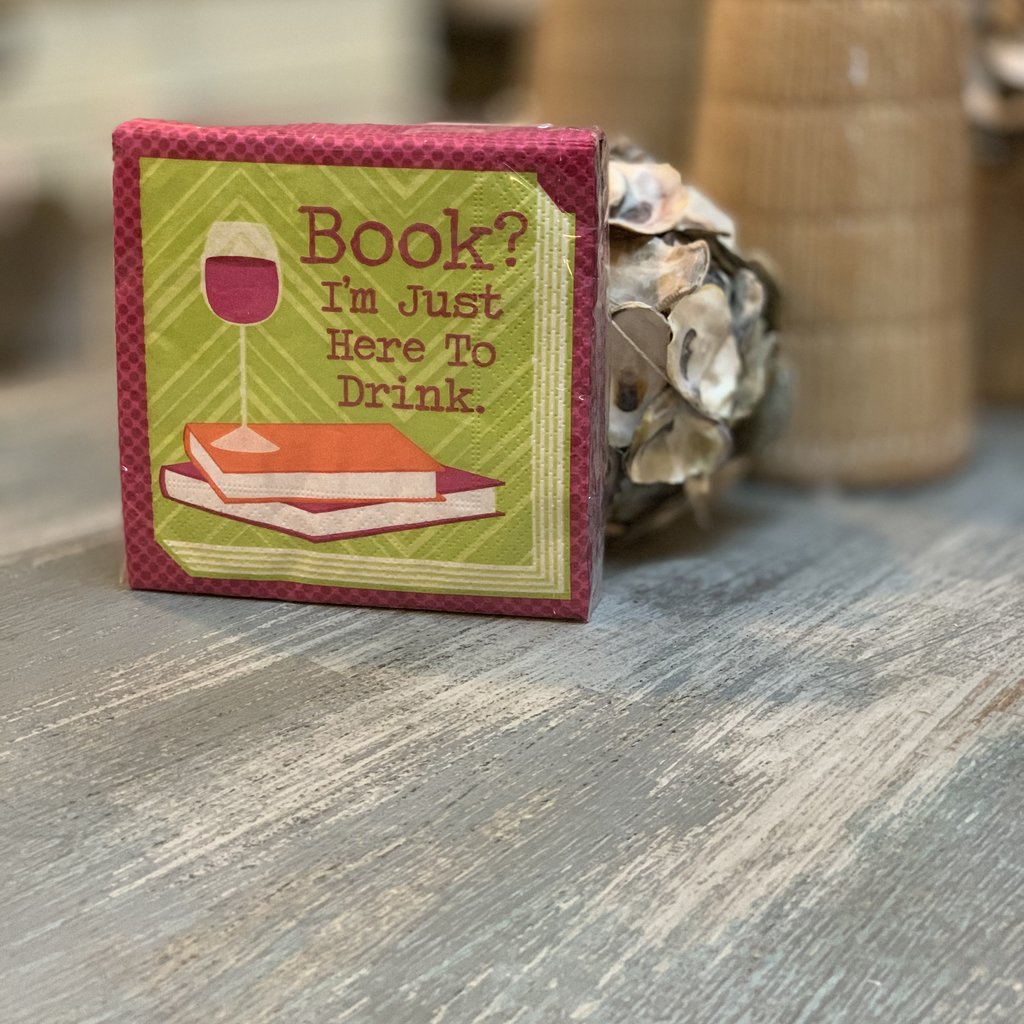 Cocktail napkins - I'm just here to drink