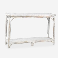 Jeffan Bamboo console table