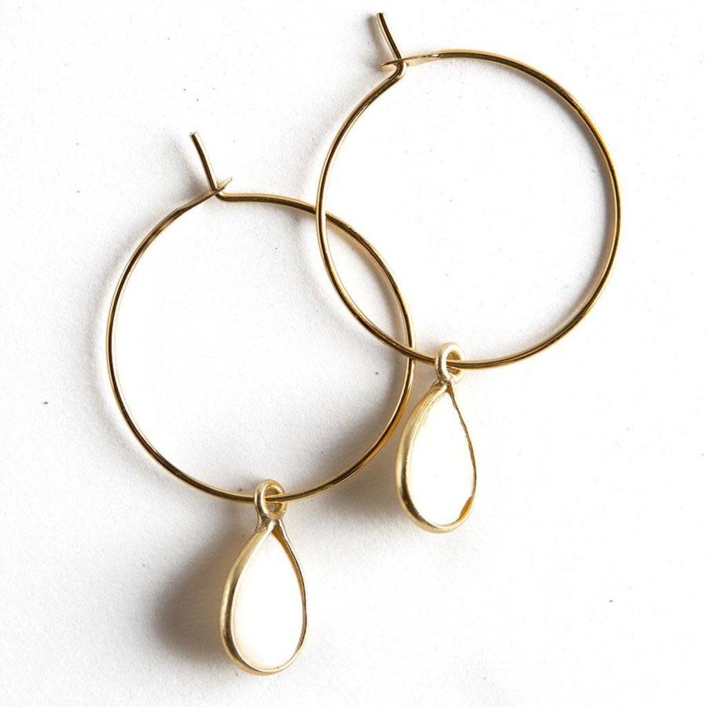 Lenny & Eva Berklee Earrings - Pearl