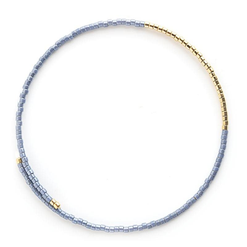 Norah Bangle Bracelets - Cornflower