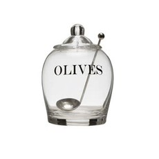 Olive Jar w/spoon