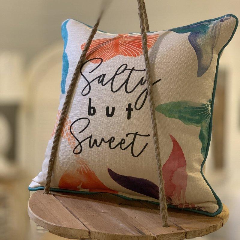Salty but Sweet pillow