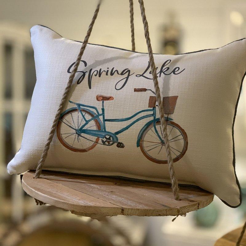 Spring Lake beach cruiser pillow