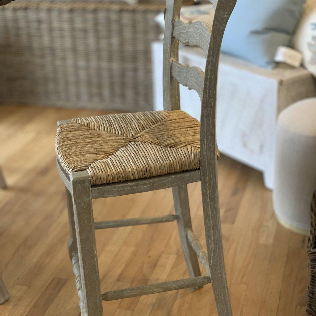 Provence Ladderback Counter Stool - Riverwash