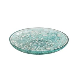 Inlet soap/candle/trinket dish