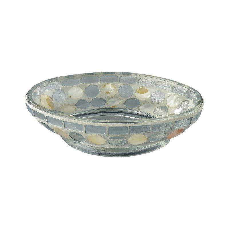 Island soap/candle/trinket dish