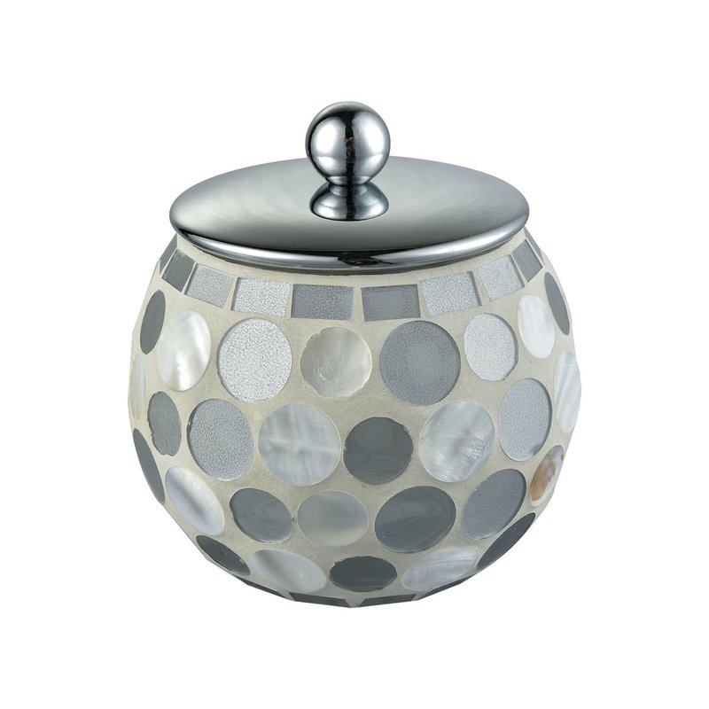 Island canister with lid