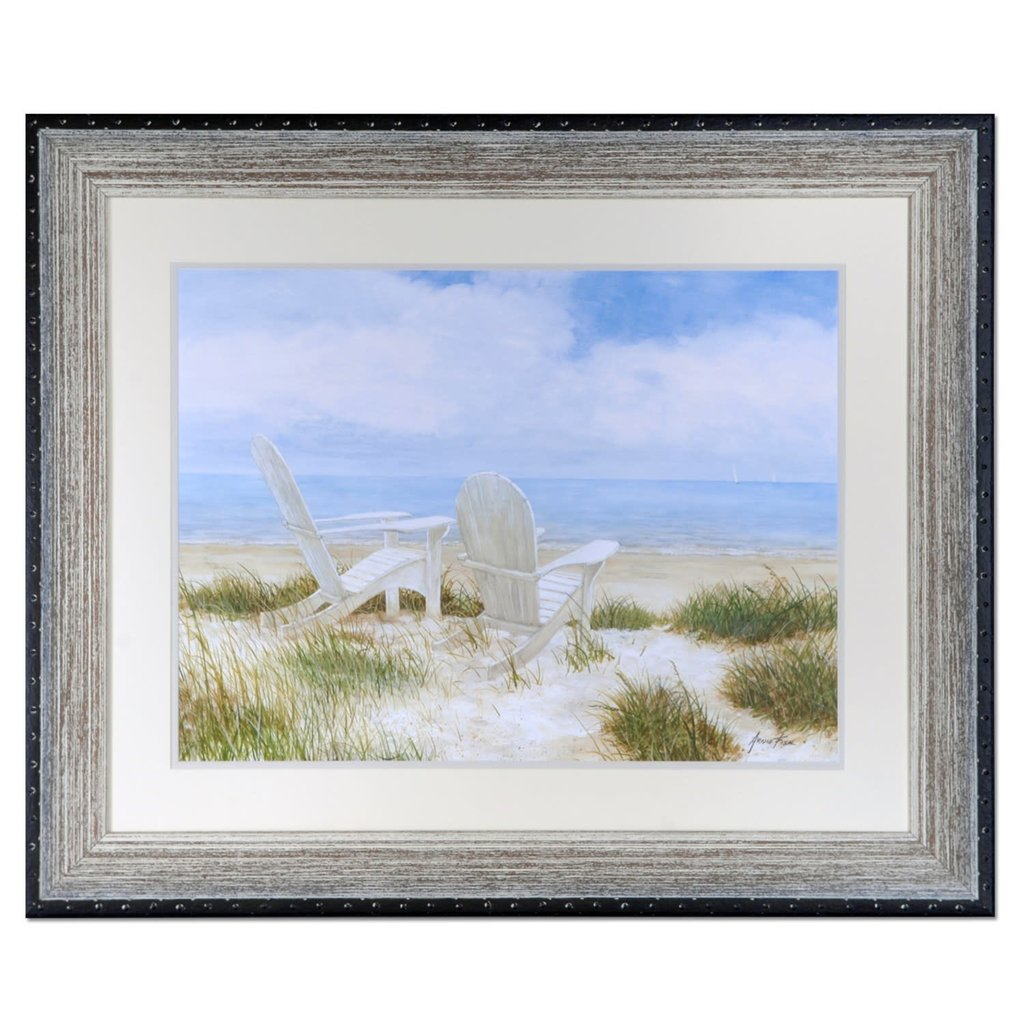 Crestview Collection Beach Chairs print