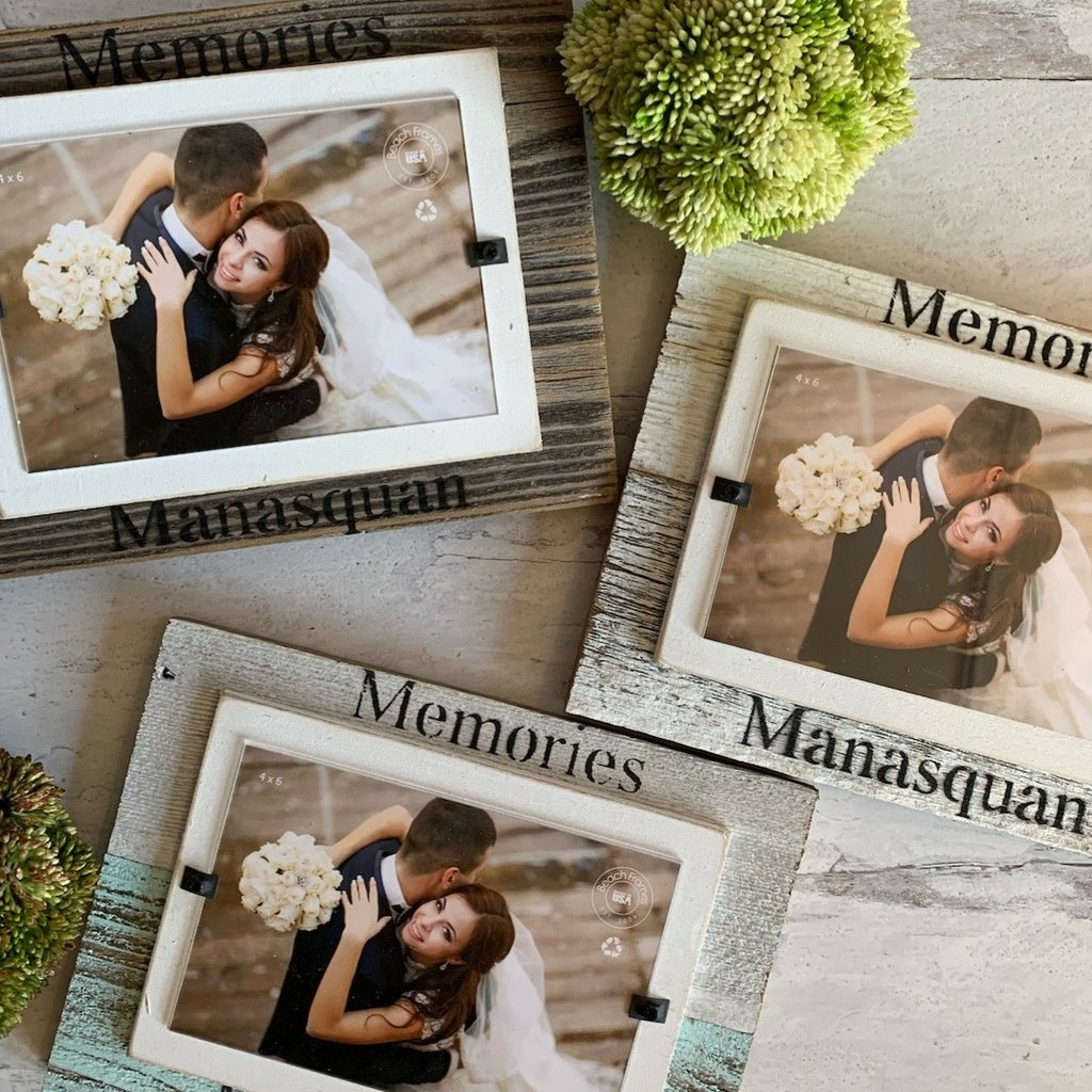 Memories - Manasquan wood picture frame