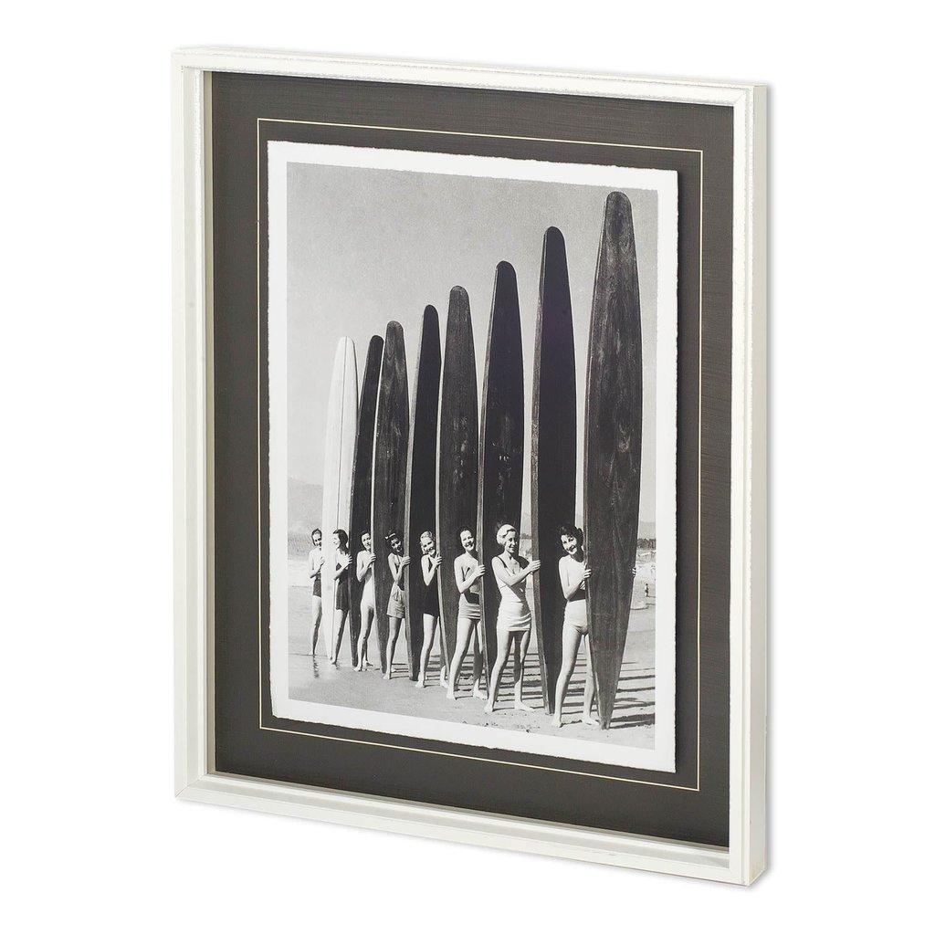 Vintage Surfer Gals print