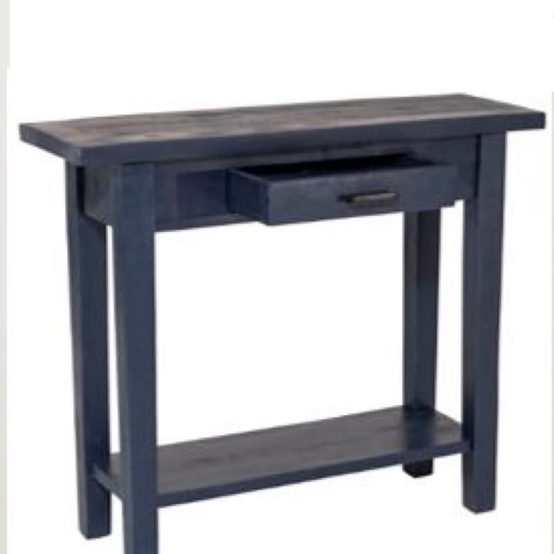 Sandbar Console Table - Navy Blue
