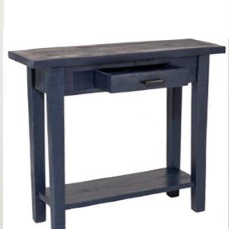 Sandbar Console Table - Navy Blue