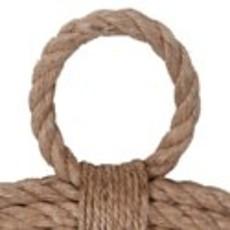 The Garret Round Rope Mirror